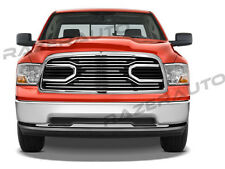 09-12 Dodge RAM 1500 Big Horn Chrome Front Packaged Grille+Replacement Shell