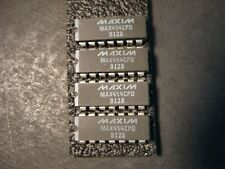Nos Lot of 4 Maxim Max454 Cpd 50 Mhz Mux / 4 x 1 Video Switcher 14-Dip