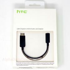 OEM HTC USB-C Digital to 3.5mm Audio Headphone Jack Adapter Earphone Cable