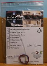 Microlife 20001 B, pista N, iluminación-set para Lasercut-kit bergwacht 20001
