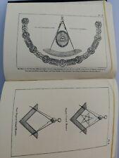1926 Masonic Craft Emulation Ritual Freemason Book Symbolism - Constitutions
