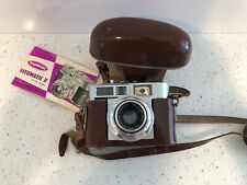 Vintage Voigtlander Prontor SLK II Camera Color Skopar 1:2.8 50 W/ Case & Manual