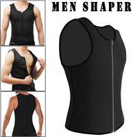 Men's Waist Trainer Vest Sauna Sweat Body Shaper Tank Top Slimmer Trimmer Shirt