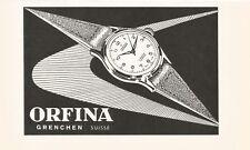 vintage 1952 print ad ORFINA Swiss Suisse watch movement MID CENTURY ART