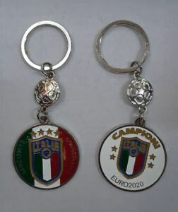 2 ITALIAN EURO CHAMPIONS KEYCHAINS - $15.50
