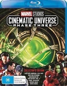Marvel Studios Cinematic Universe Phase Three 3 Part One 1 Blu-ray BRAND NEW