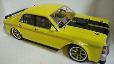 1:10 RC Nitro EXCRC Petrol Engine Yellow Ford Falcon XY GTHO On Road Car