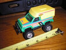 """Vintage 1/43 ? 4 1/2"""" Remco Diecast Toy Ford Chevy Pickup Truck Camper Special"""