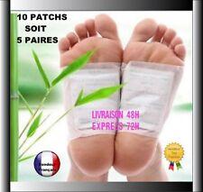 10 Patchs Détox plantaire Détoxifiant Foot Toxines du Corps Pieds Santé W06