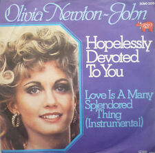 """7"""" 1978 OST GREASE ! OLIVIA NEWTON-JOHN : Hopelessly Devoted To You /MINT-?"""