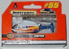MATCHBOX 2000 MATTEL WHEELS WINDOW BOX #55 COPTER