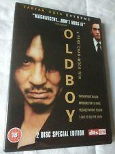 Oldboy TARTAN DVD 2-Disc Special Edition Choi Min-Sik Park Chan-Wook