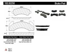 Disc Brake Pad Set-C-TEK Metallic Brake Pads Front,Rear Centric 102.02250