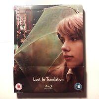 LOST IN TRANSLATION / bluray limited steelbook / zavvi - OOP OOS - Coppola - NEW