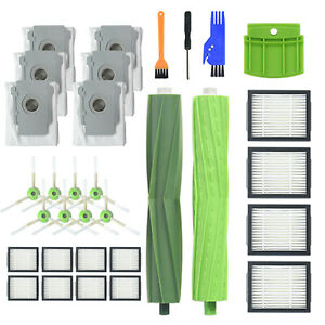 Spare Brush/Filter Parts For IRobot Series I7 I7+ E5 E6 Robot Vacuum Cleaner kit
