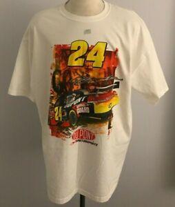 Vintage Chase Authentic Jeff Gordon #24 NASCAR Men's T-Shirt  Size: 3XL