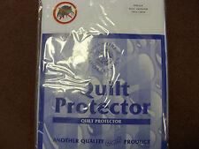Single Waterproof Zipped Duvet Protector
