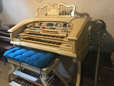 New Listingwurlitzer organ used white needs tuneup very large pick up only