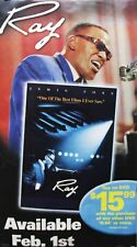 Ray Charles 2004 Ray Movie Vinyl Banner Promo Poster Authentic Original