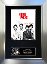 More details for small faces mounted signed photo reproduction autograph print a4 257