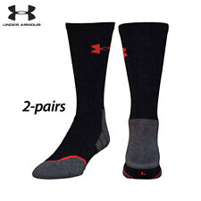 UA Socks: 2-PAIR All Season Wool Boot (L) Black