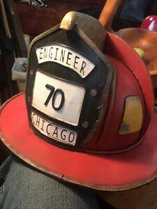 Repro American Firemans Helmet