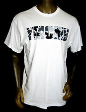NEW YMCMB YOUNG MONEY casual GRAY CAMO short sleeve crewneck TShirt white *LARGE