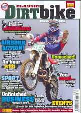 CLASSIC DIRT BIKE-No.26-(NEW COPY) *Post included to UK/Europe/USA/Canada