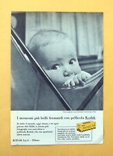 D296 - Advertising Pubblicità - 1959 - PELLICOLE KODAK