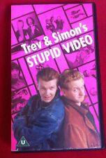 TREV AND SIMON'S STUPID VIDEO - RARE BBC CULT COMEDY CLASSIC VHS PAL