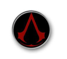 """ASSASSINS CREED / 1"""" / 25mm pin button / badge / gaming / Xbox / Playstation"""