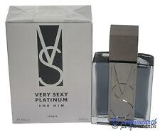 Very Sexy Platinum For Him By Victoria's Secret 3.4/3.3 oz.Cologne Spray New