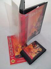 Sega Megadrive Console Game - Lion King - Genesis Version - Damaged Box