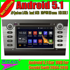 "Car multimedia DVD GPS Navi Audio for SUZUKI SWIFT (2004-2010) 7"" Android 5.1"