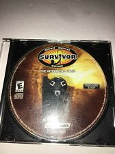 Survivor Outwit Outplay Outlast PC CD-ROM-TESTED-RARE VINTAGE-SHIPS IN 24 HOURS