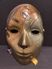 Vintage Brass Decorative Mask Wall Decoration Made in India