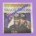 2020 LA Times Newspaper Los Angeles Lakers NBA Championship Finals LeBron