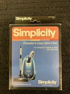 NEW Simplicity Genuine S-Class SF-12 HEPA Filter for Canister models S24 S20 S18