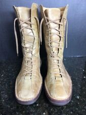 Bally Mens Leather Earth Trek  Brown 12'' Boots RARE sz 10.5 US