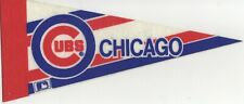 CHICAGO CUBS BASEBALL FELT MINI PENNANT