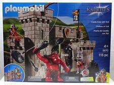 PLAYMOBIL 5670 Ritter Schloss und Troll Spielset