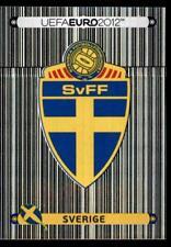 Panini Euro 2012 - Badge - Sverige Sweden No. 427