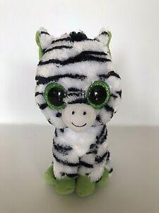 TY Zig-Zag The Zebra Plush Toy