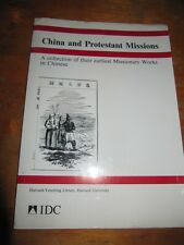 SCARCE CHINA AND PROTESTANT MISSIONS BOOK CATALOGUE BY YUNG HSIANG LAI CA 1980S!