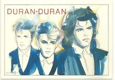 RARE / CARTE POSTALE - DURAN DURAN / COMME NEUF - LIKE NEW / POSTCARD
