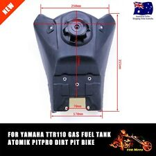 For TTR110 Style Gas Fuel Petrol Tank + Tap + Cap PIT PRO Trail Dirt Bike