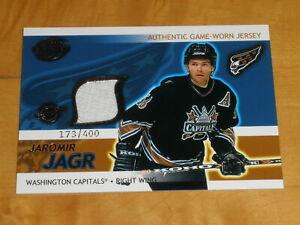 2003-04 Pacific Supreme Hockey Game Used Jersey #25 Jaromir Jagr 173/400
