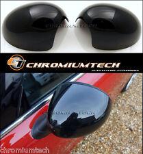 BLACK Mirror Cap Covers for MK3 MINI Cooper/S/ONE F55 F56 Hatch F57 RHD Model