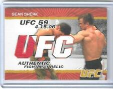 RARE 2009 TOPPS UFC SEAN SHERK RELIC CARD #FM-SS ~ 199/199 ~ UNIQUE LAST ONE