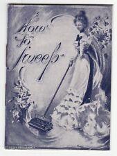 RARE- Advertising Catalog Booklet Royal Blue Carpet Sweeper Grand Rapids MI 1899